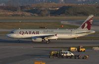 A7-AHF @ LOWW - Qatar Airways Airbus A320 - by Thomas Ranner