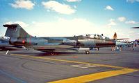MM54261 @ EGVA - Lockheed TF-104G-M Starfighter [583H-5212] RAF Fairford~G 22/07/1995 - by Ray Barber