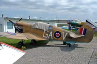 C-GGAV @ CYBW - Loehle P-40K Kittyhawk 2/3 scale [WTF-3] Calgary-Springbank~C 22/07/2008 - by Ray Barber
