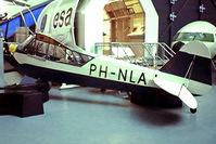 PH-NLA @ EHAM - Piper J-3C-65 Cub [12772] Schiphol~PH 10/06/1982