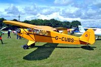 G-CUBS @ EGBP - Piper J-3C-65 Cub [17792] Kemble~G 10/07/2004 - by Ray Barber
