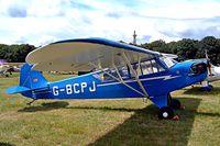G-BCPJ @ EGBP - Piper J-3C-65 Cub [13206] Kemble~G 10/07/2004 - by Ray Barber