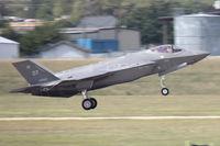 09-5007 @ NFW - Lockheed F-35A landing at NASJRB Fort Worth - by Zane Adams