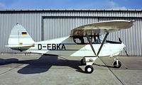 D-EBKA @ EDFE - Piper PA-22-108 Colt [22-8296] Eglesbach~D 02/05/1981 - by Ray Barber