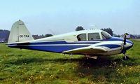OO-TRA @ EBAW - Piper PA-23 160 Apache [23-1269] Antwerp~OO 14/08/1977. Image taken from a slide.