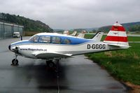 D-GGGG @ EDMV - Piper PA-23-160 Apache [23-1579] Vilshofen~D 18/04/2005 - by Ray Barber