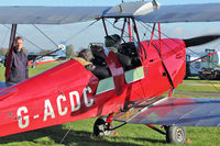 G-ACDC @ EGKH - 1933 De Havilland DH-82A, c/n: 3177