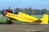G-ARBZ @ EGKH - 1960 Rollason Druine D.31 TURBULENT, c/n: PFA 553