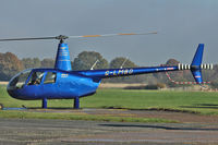 G-LMBO @ EGKH - 2007 Robinson R44 Raven, c/n: 1743