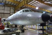 N329J - Lockheed CL-329 JetStar prototype (two-engined) being restored at the Museum of Flight Restoration Center, Everett WA
