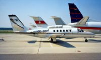 OE-GEC @ LOWW - Cessna Citation II [550-0266] Vienna~OE 20/06/1996