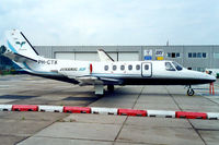 PH-CTX @ EHRD - Cessna Citation II [550-0398] Rotterdam~PH 11/08/2000