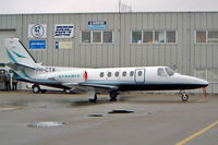 PH-CTX @ EHRD - Cessna Citation II [550-0398] Rotterdam~PH 10/09/2003