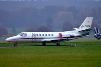 G-TTFN @ EGTF - Cessna Citation V [560-0537] Fairoaks~G 09/11/2004