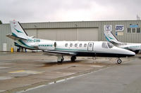 PH-DYN @ EHRD - Cessna Citation Bravo [550-0929] Rotterdam~PH 10/09/2003