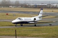 G-CGEI @ EGBJ - Cessna Citation Bravo [550-0951] Staverton ~G 19/03/2010