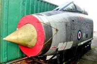 ZF587 @ EGKH - English Electric Lightning F.53, c/n: 95297