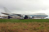 N309TD @ EGMH - Boeing 747-269B, c/n: 22740