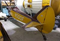 N500F - Bowers Fly-Baby 1A at the Museum of Flight Restoration Center, Everett WA