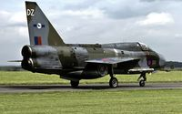 XS417 @ EGXB - taxying to the active at RAF Binbrook