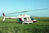 F-BSUY @ LFPR - Bell 206A Jet Ranger [179] Guyancourt~F 16/09/1978. Image taken from a slide.