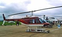 G-HANY @ EGSU - Agusta-Bell AB.206B-3 Jet Ranger III [8598] Duxford~G 27/09/2001