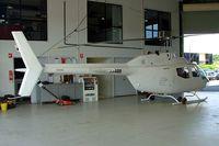 VH-ABB @ YCAB - Bell CH-136 Kiowa [44037]  Caboolture~VH  19/07/2003