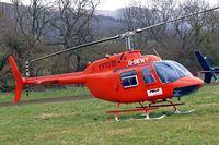 G-BEWY @ EGBC - Bell 206B Jet Ranger [348] Cheltenham~G 14/03/2008