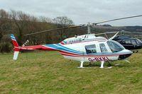 G-BXKL @ EGBC - Bell 206B-3 Jet Ranger III [3006] Cheltenham~G 12/03/2009
