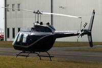G-GEZZ @ EGBJ - Bell 206B-2 Jet Ranger II [1301] Staverton~G 17/03/2010