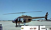 OY-HCR @ EKRK - Agust-Bell AB.206B Jet Ranger II [8507] Roskilde~OY 07/06/1982. Image taken from a slide.