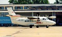 OM-RAY @ LDZA - Let L-410UVP-E5 Turbolet [861813] Zagreb~9A 18/06/1996