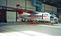 RA-67652 @ LZIB - Let L-410UVP-E Turbolet [902505] Bratislava~OM 21/06/1996 . Being prepared for delivery to Columbia.