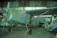3301 @ LPOT - Max Holste MH.1521C Broussard [51C] Ota-Lisbon~CS 04/05/2000. Stored on rebuild.