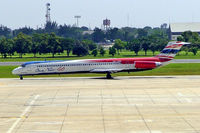 HS-OMB @ VTBD - McDonnell Douglas MD-82 (DC-9-82) [49441] (Orient Thai Airlines) Bangkok-International~HS 30/10/2005