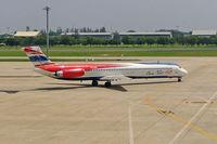 HS-OMC @ VTBD - McDonnell Douglas MD-82 (DC-9-82) [49479] (Orient Thai Airlines) Bangkok-International~HS 30/10/2005