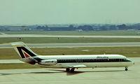 I-DIBO @ EGLL - McDonnell-Douglas DC-9-32 [47237] (Alitalia) Heathrow~G 1975