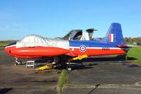 XM365 @ X3BR - 1960 Hunting P-84 Jet Provost T.3A, c/n: PAC/W/9241 at Bruntingthorpe