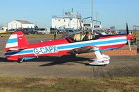 G-CAPX @ EGBG - 1998 Mudry CAP-10B, c/n: 280 at Leicester
