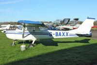 G-BAXX @ EGBG - 1973 Reims F150L, c/n: 0960