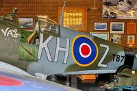 TB752 @ EGMH - TB752 (KH-Z), Supermarine 361 Spitfire LF.XVIe, c/n: CBAF.IX.4113