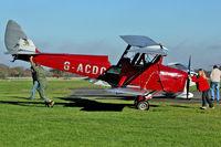 G-ACDC @ EGKH - 1933 De Havilland DH-82A, c/n: 3177 at Headcorn