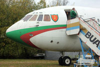 G-ASIX @ EGLB - 1964 Vickers VC10 Srs 1103, c/n: 820 (A40-AB) at Brooklands Museum