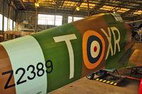 Z2389 @ EGMH - 1940 Hawker Hurricane IIA at Manston Memorial