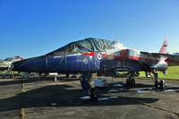 XX145 - Sepecat Jaguar T.2A, c/n: B.10 at Bruntingthorpe