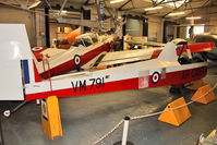 XA312 @ EGMH - 1953 Slingsby T-31B Cadet TX3, c/n: 854 painted as VM791 at Manston Museum