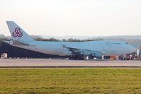 LX-DCV @ EGNX - 1990 Boeing 747-4B5F (SCD), c/n: 24619