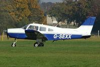 G-SEXX @ EGKH - 1978 Piper PA-28-161, c/n: 28-7816196 at Headcorn