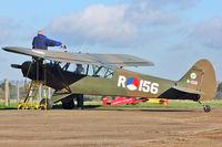 G-ROVE @ EGKH - 1957 Piper L-21B, c/n: 18-3846 ex USAF 54-2446 at Headcorn