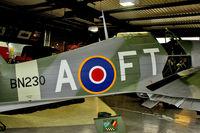 LF751 @ EGMH - 1944 Hawker Hurricane IIC painted as BN230 at the Manston Memorial